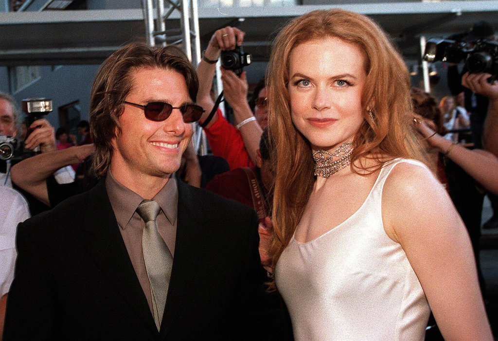 Tom Cruise and Nicole Kidman married in 1990 and divorced in February 2001.