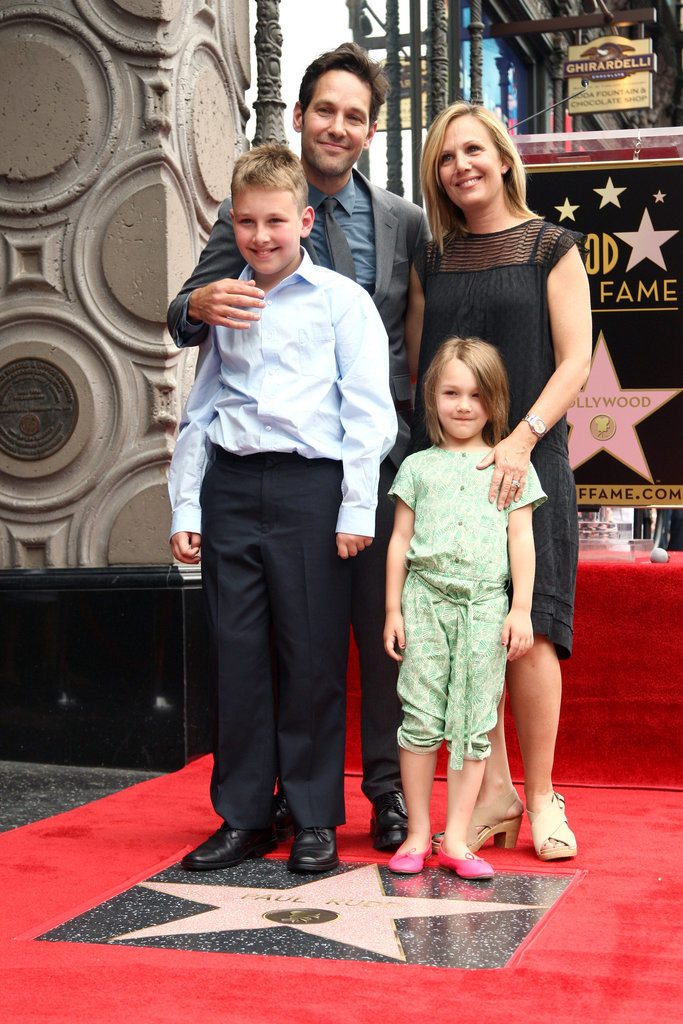 Family photo of the actor, married to Julie Yaeger, famous for The Shape of Things & P.S..