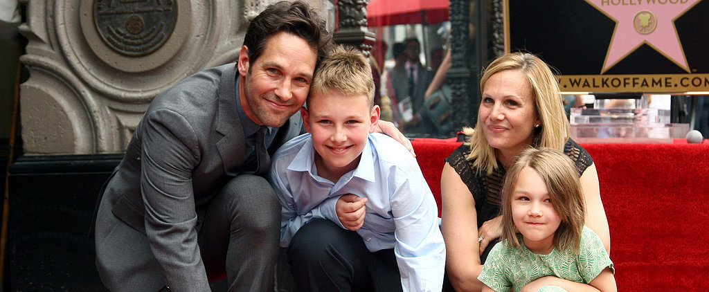 Paul Rudd Receives a Special Honour With His Adorable Kids at His Side