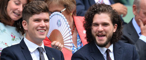 Kit Harington Brings His Sexy Smolder to the Royal Box at Wimbledon