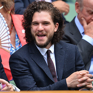 Kit Harington Brings His Sexy Smoulder to the Royal Box at Wimbledon