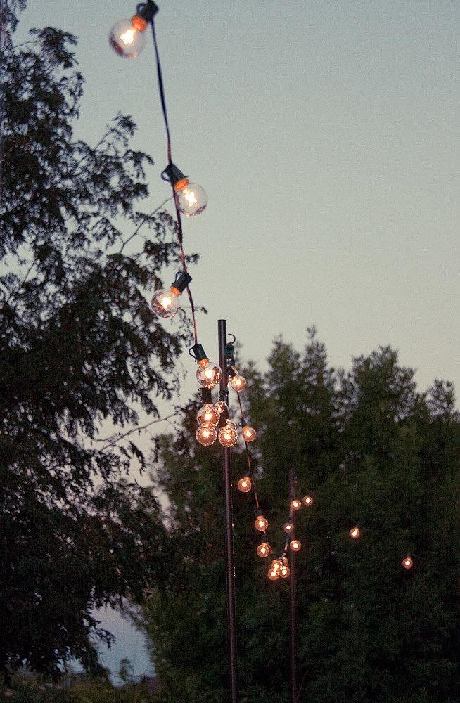 Diy outdoor string lights popsugar home for Diy outdoor string lights