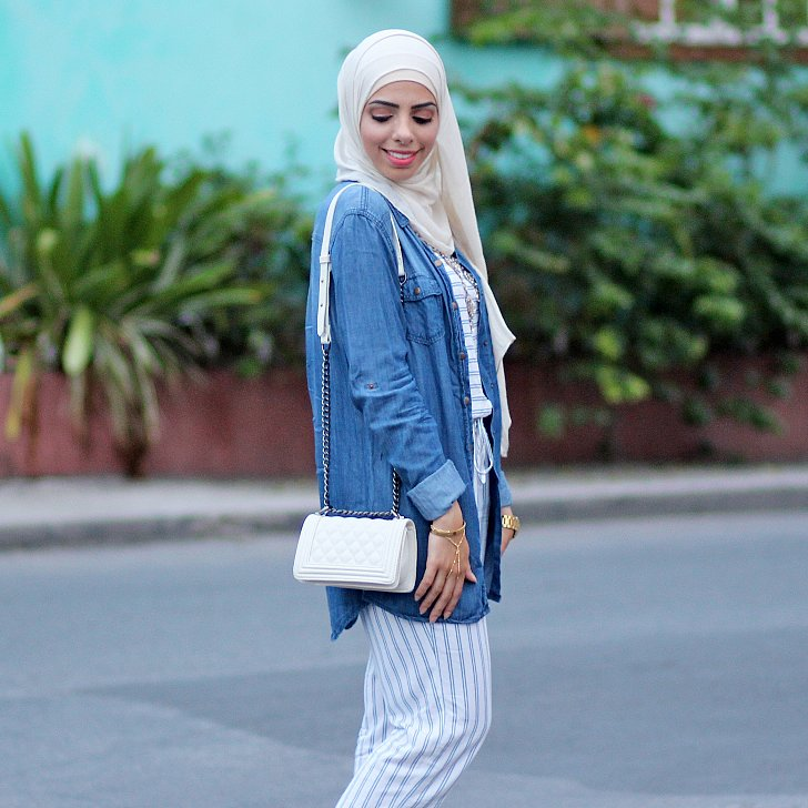 Hijab Fashion Bloggers Popsugar Celebrity