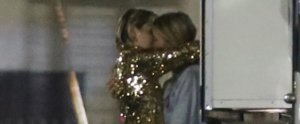 Miley Cyrus Makes Out With Her New Love, Model Stella Maxwell