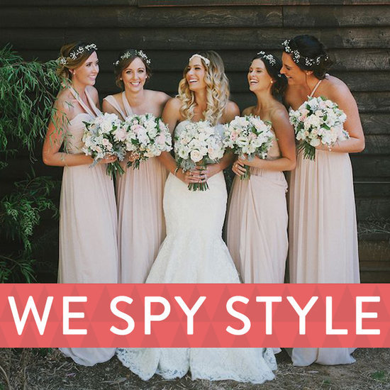We Spy: Themed Weddings and Matching Bridesmaids — Yes or No?