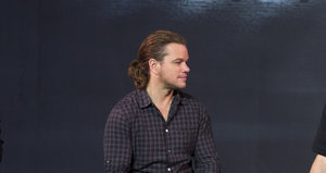 Matt Damon Has a Ponytail Now and the Internet Is Freaking Out
