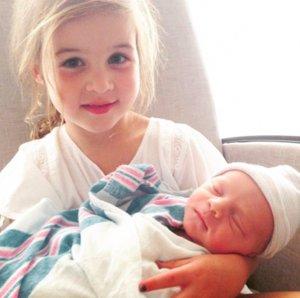 Tiffani Thiessen Welcomes Second Child: Holt Fisher