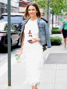 Jessica Alba and Lady Gaga Love These Metallic Platform Sandals