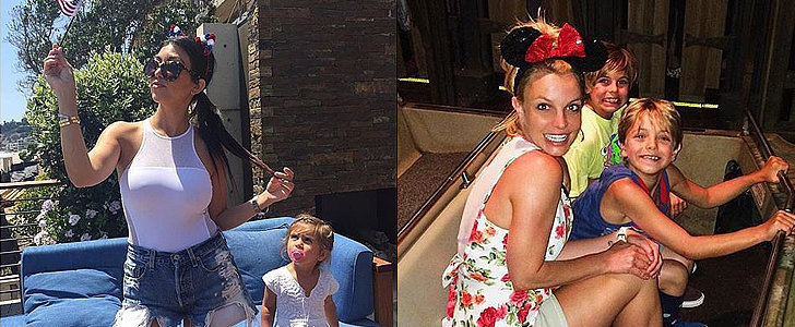 For These Stars, the Fourth of July Was a Family Affair