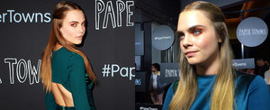 "Paper Towns Premiere: Cara Talks Margot Robbie and Taylor Swift, and Gives Us Her Best ""Cara"" Face"