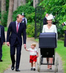 PICS: Princess Charlotte's Royal Christening