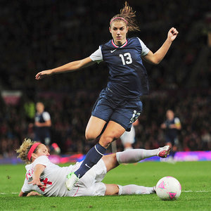 Alex Morgan Loves Playing Like a Girl