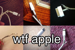 Dear Apple, We Need To Talk About Your Ridiculous iPhone Chargers