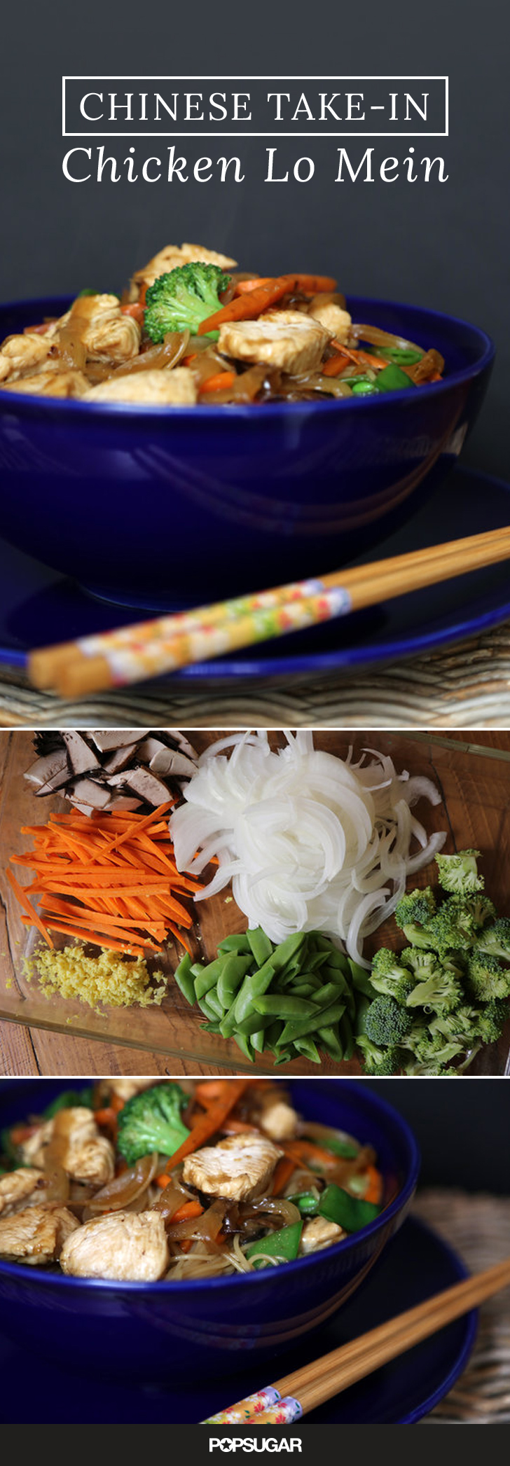 how to make chinese lo mein at home