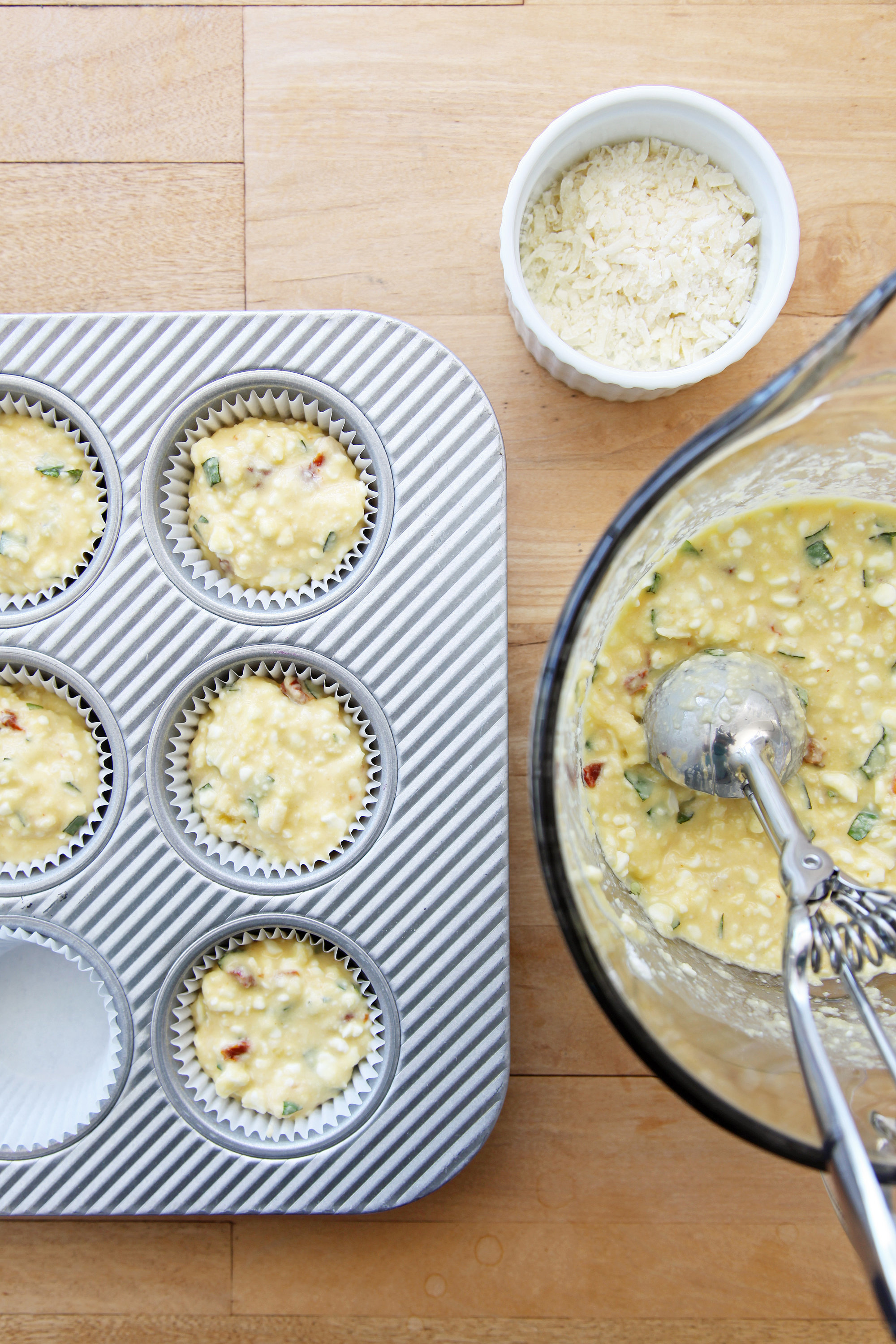 Gluten-Free Muffins With Parmesan and Sun-Dried Tomatoes | POPSUGAR ...