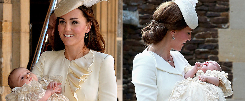 Compare Prince George's and Princess Charlotte's Christenings Side by Side!