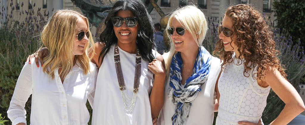 13 Real-Girl Ways to Wear a White Dress Without Looking Boring