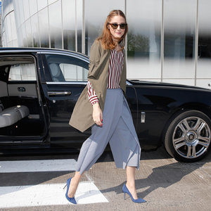 Copy Olivia Palermo's Style, Try Culottes Today!