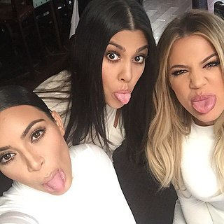 Kourtney Kardashian With Kim and Khloe After Split | Photos