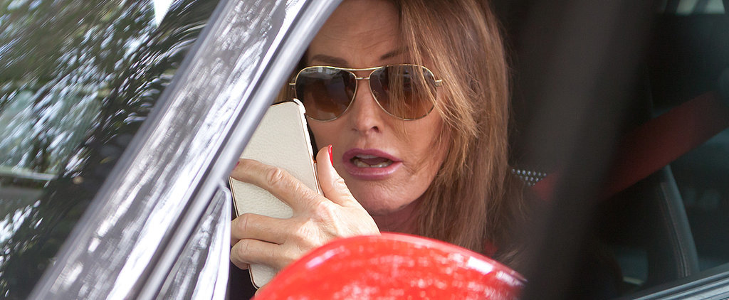 Caitlyn Jenner Takes That Badass Porsche For a Spin