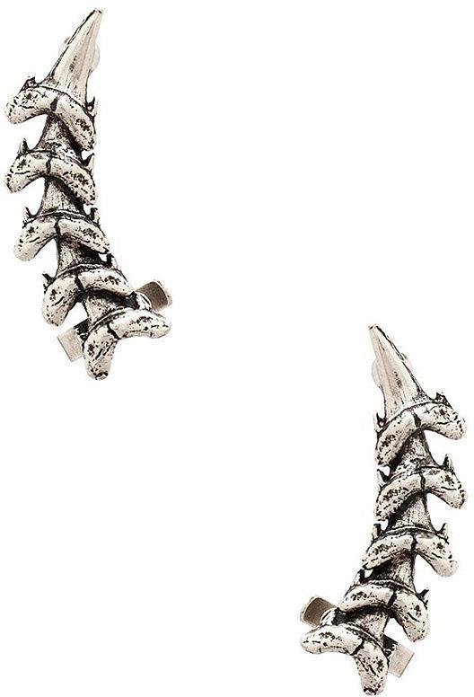 Luv AJ Shark Tooth Ear Cuff ($55)