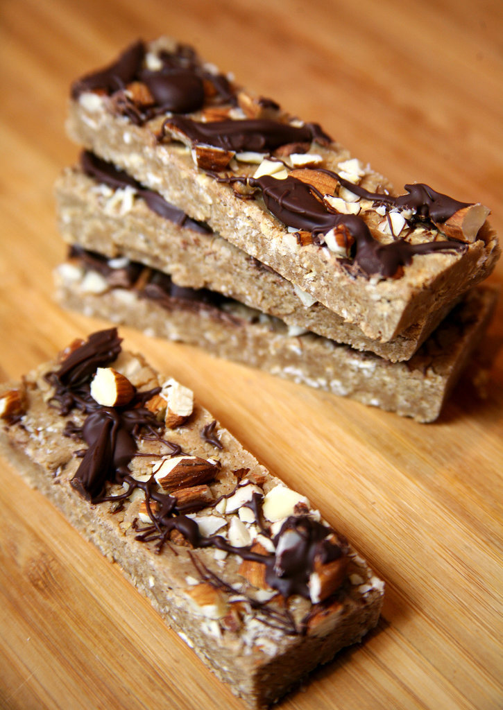 Vegan Chocolate Almond Bars