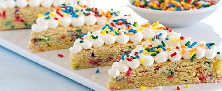 Sprinkle Some Fun Into Your Day With These Funfetti Sugar Cookie Bars