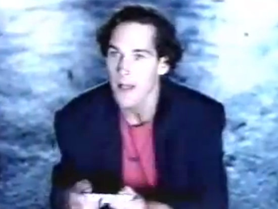Watch a Baby-Faced Paul Rudd in This 1991 Super Nintendo Commercial