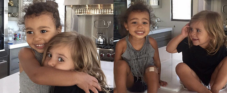 Kim Kardashian Shares the Most Adorable Pictures of North and Penelope