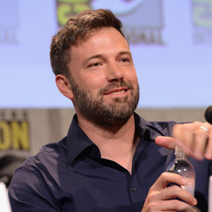 Ben Affleck At Comic Con Wearing His Wedding Ring