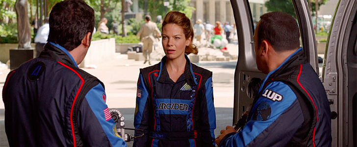 Exclusive: Go Behind the Scenes of Pixels With Star Michelle Monaghan
