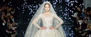 These Couture Catwalk Looks Will Make You Want to Be a Princess Bride