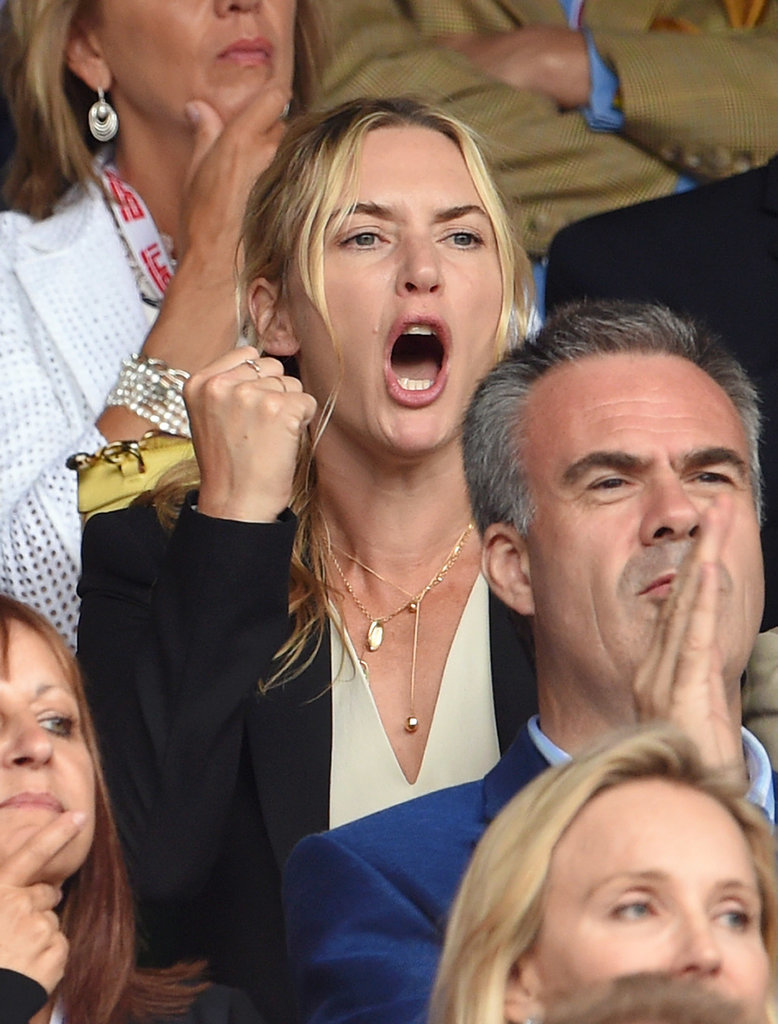 Pictures of Kate Winslet and Her Daughter at Wimbledon ...