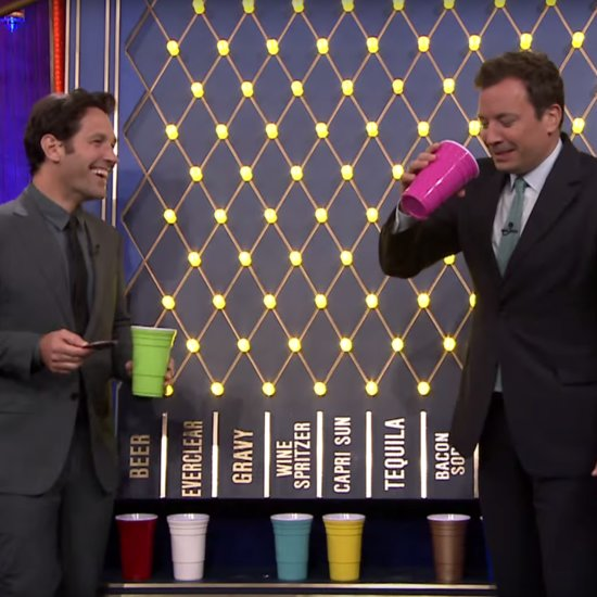 Paul Rudd Plays Drinko on The Tonight Show July 2015 | Video