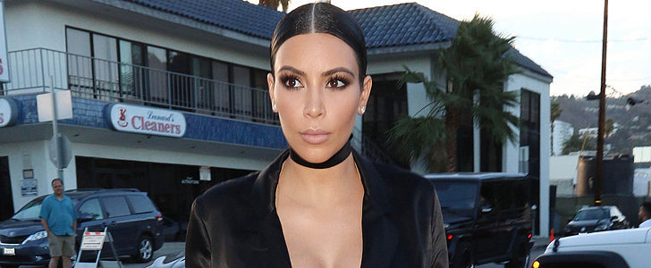 This Is What Kim Wears to Dinner With the Lady Who Changed Her Style