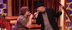 """Jack Black and Boy George Have a Viral Moment Singing """"Hello, I Love You"""""""