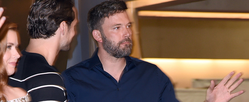 Ben Affleck Was Spotted Without His Wedding Ring at Comic-Con