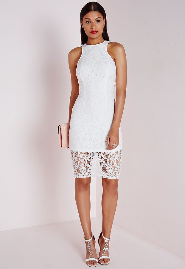 40 white dresses we dare you to wear to someone else 39 s for White dresses for wedding guests