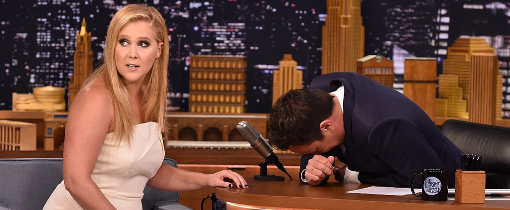 "Amy Schumer's ""Emotional Interview"" With Jimmy Fallon Might Bring You to Tears"