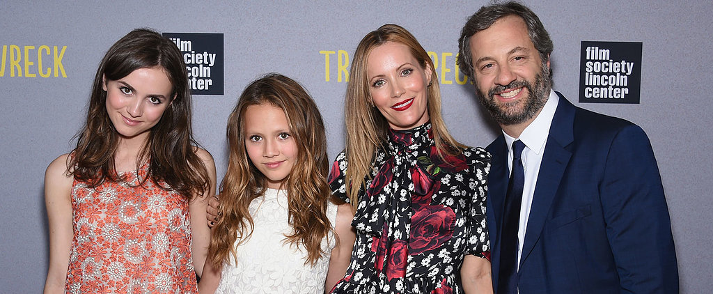 Judd Apatow and Leslie Mann's Daughters Are Ridiculously Beautiful at the Trainwreck Premiere