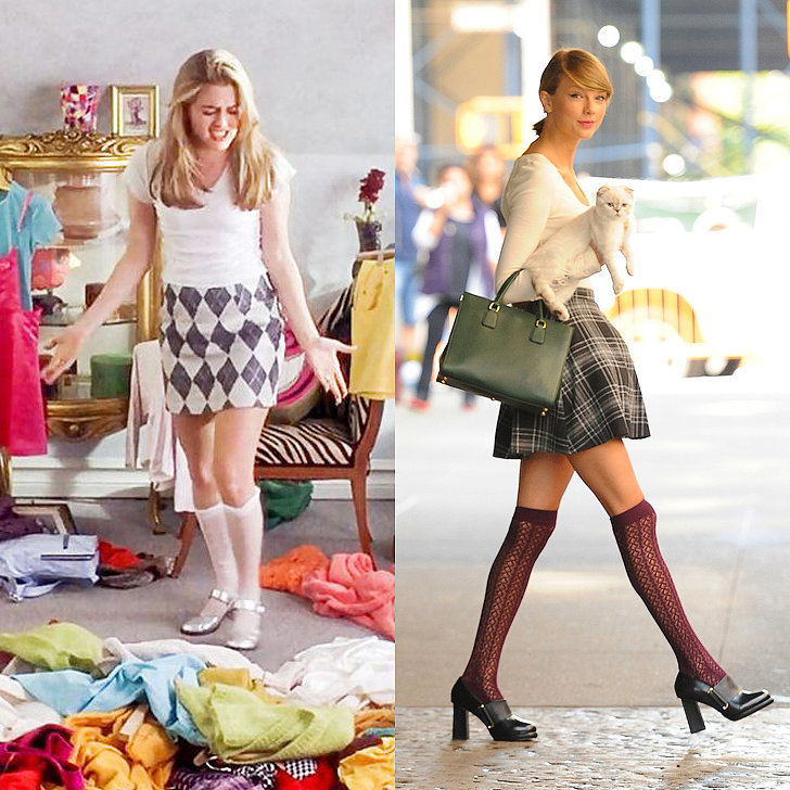 Taylor Swift Dressing Like Cher From Clueless | POPSUGAR Fashion