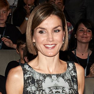 Queen Letizia Takes Photos With Fans