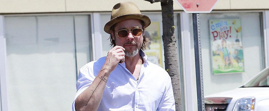 Brad Pitt's New Tattoo Sweetly Honors Angelina Jolie and Their 6 Kids