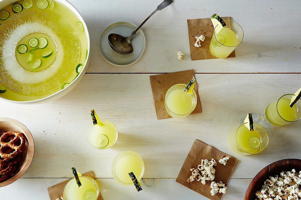 Pineapple-Tequila Punch