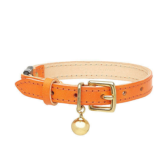 Leather Cat Collar