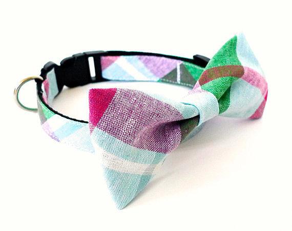 Bow-Tie Cat Collar