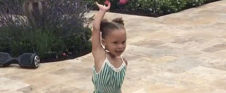 Watch Riley Curry's Adorable Birthday Dance!