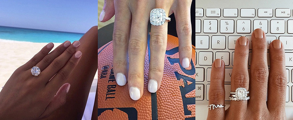 Real-Girl Engagement Ring Pictures From Instagram