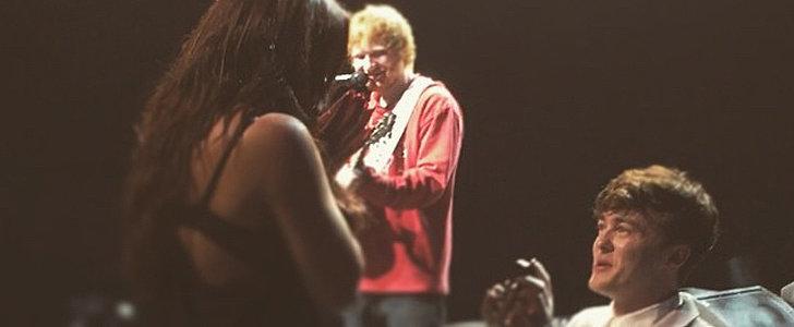 Ed Sheeran Serenades His Famous Pals During a Supersweet Proposal