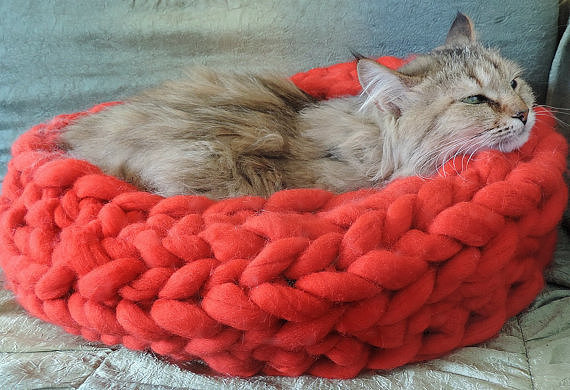 What could possibly be more comfy to sleep on than a cozy merino wool bed  ($60)? We think nothing.